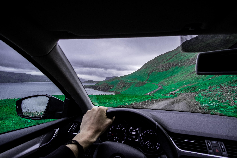 Utsikt fra bil